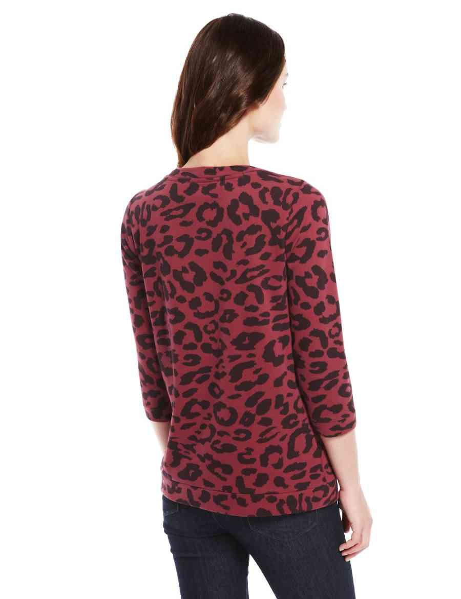 31384e82c198b Leopard Print Sweat Top