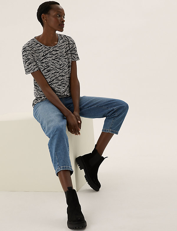 Printed Relaxed T-Shirt