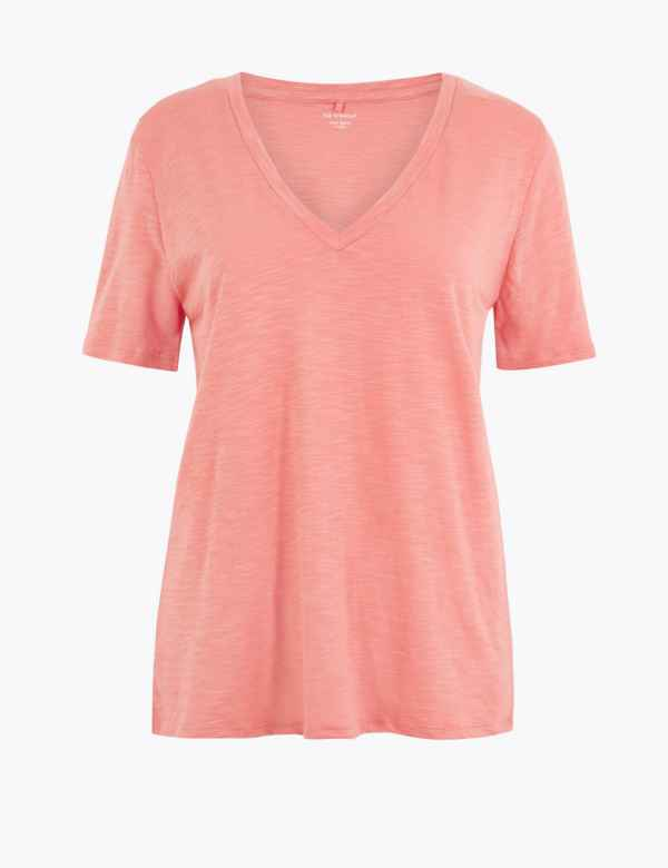 dab4f803 M&S Collection Womens Tops & T Shirts | Cotton & Linen | M&S