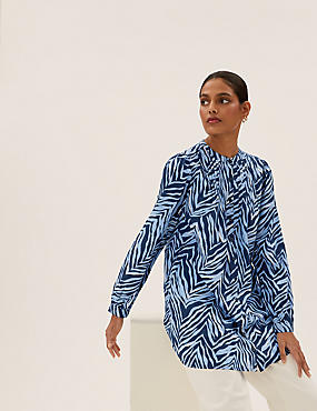 Pure Cotton Printed Relaxed Fit Tunic