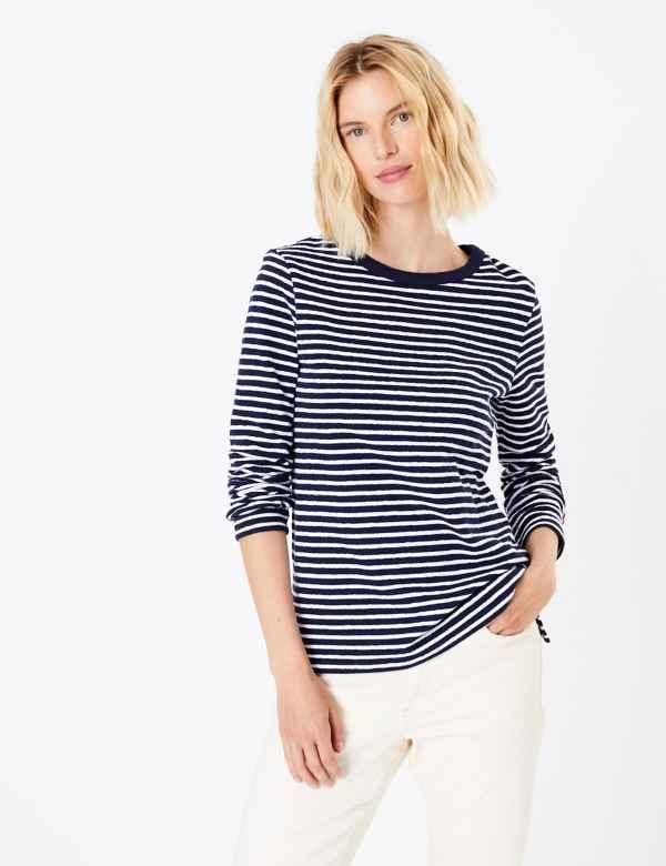 0fdc3d51e3 Long sleeve | Women's Tops & T Shirts | M&S
