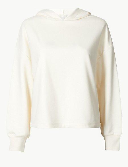 Hooded Long Sleeve Sweatshirt