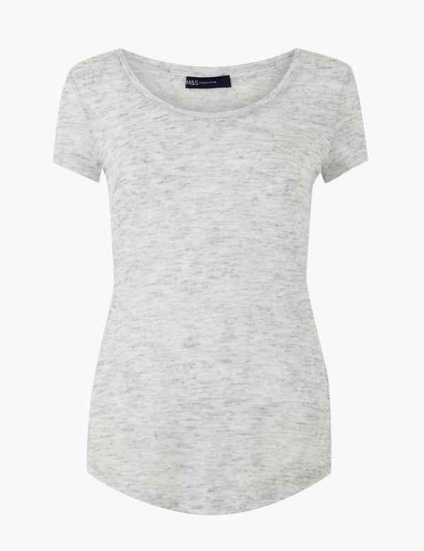 9803aba88b5 Womens Plain Tops & T-Shirts | M&S