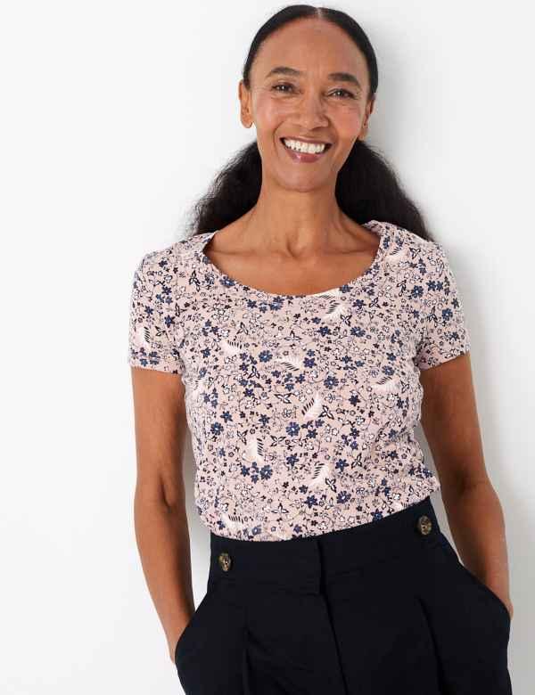 1de1ecb09fa95 Pure Cotton Printed Regular Fit T-Shirt