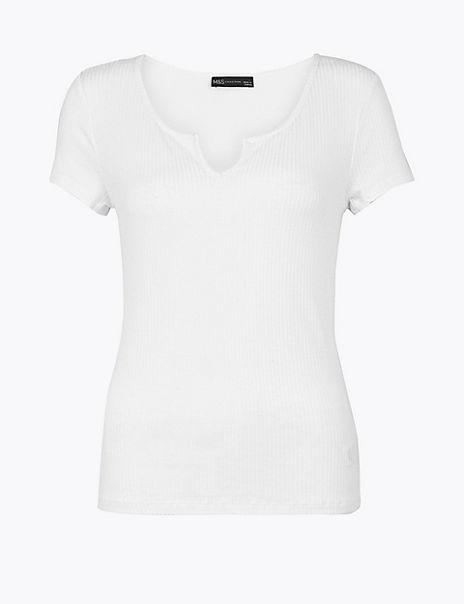 Regular Fit Short Sleeve Top