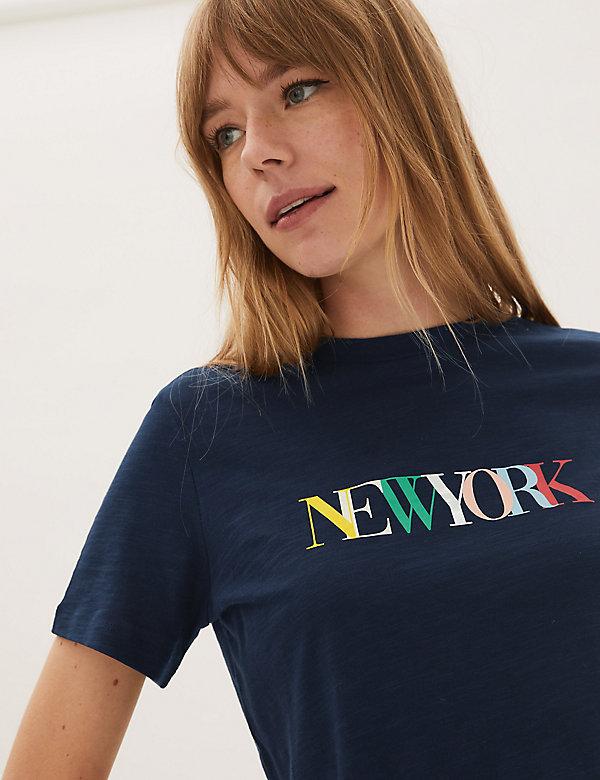 Pure Cotton Love Slogan T-Shirt