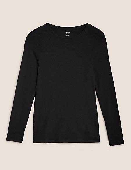 Sheer Round Neck Short Sleeve T-Shirt
