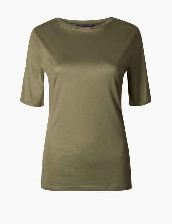 0a2e0a05b89be7 Womens Green Tops   T-shirts