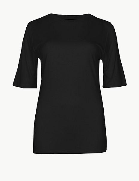 Round Neck Regular Fit T-Shirt