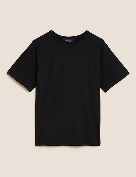 Gathered Neck Long Sleeve Top