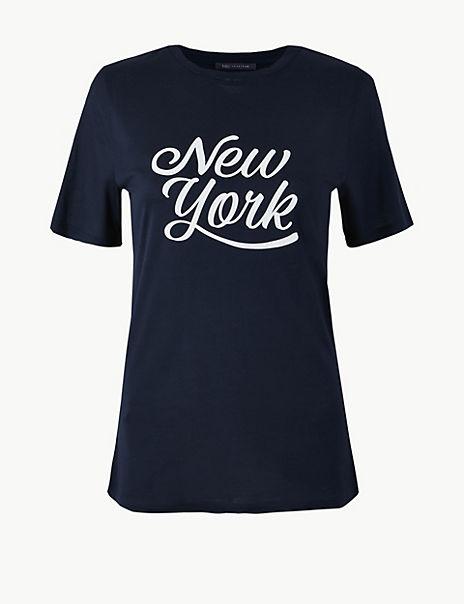 New York Regular Fit T-Shirt