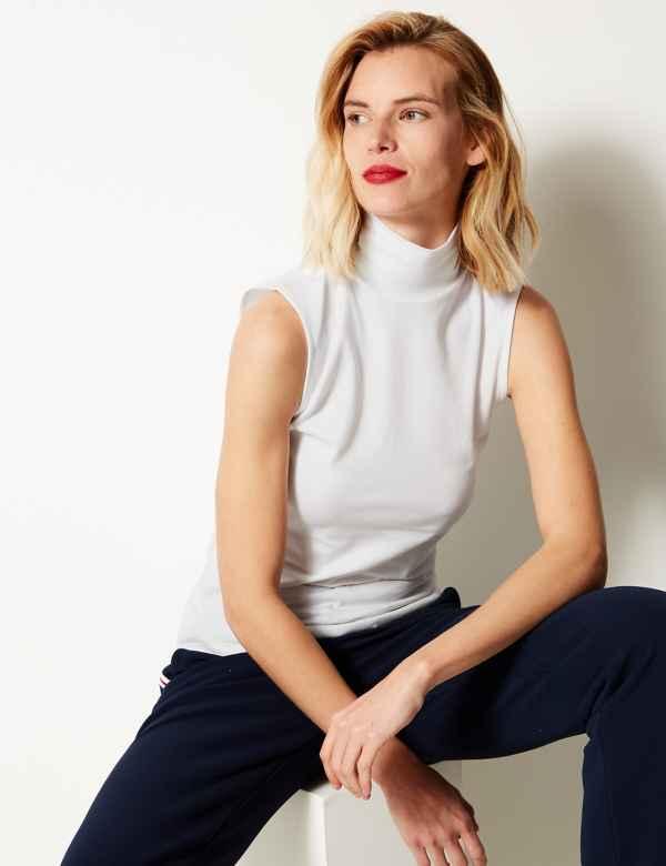 2c631b29a694 Sleeveless   Women's Tops & T Shirts   M&S