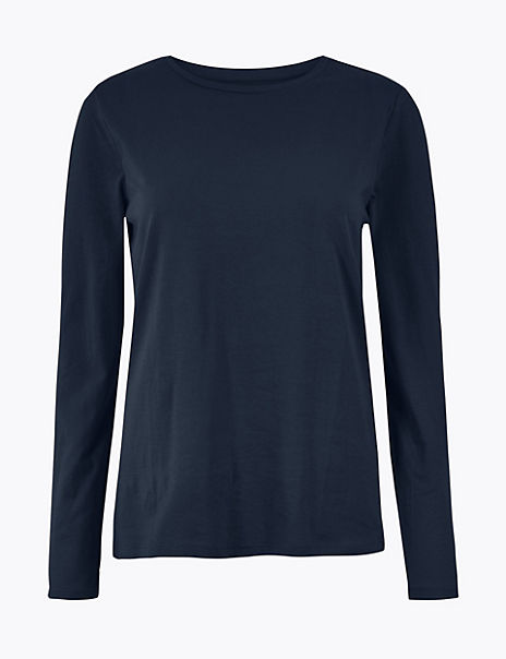 Pure Cotton Straight Fit Top