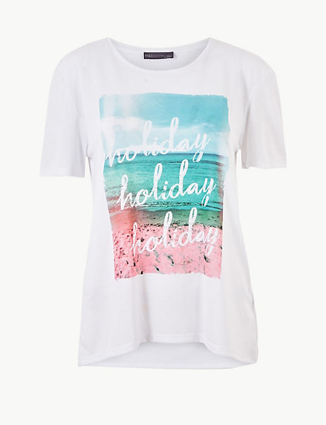 Relaxed Fit Holiday Short Sleeve T-Shirt