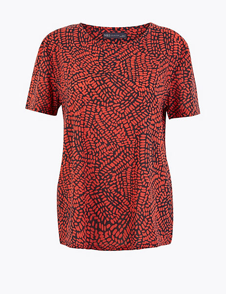Printed Relaxed Fit T-Shirt