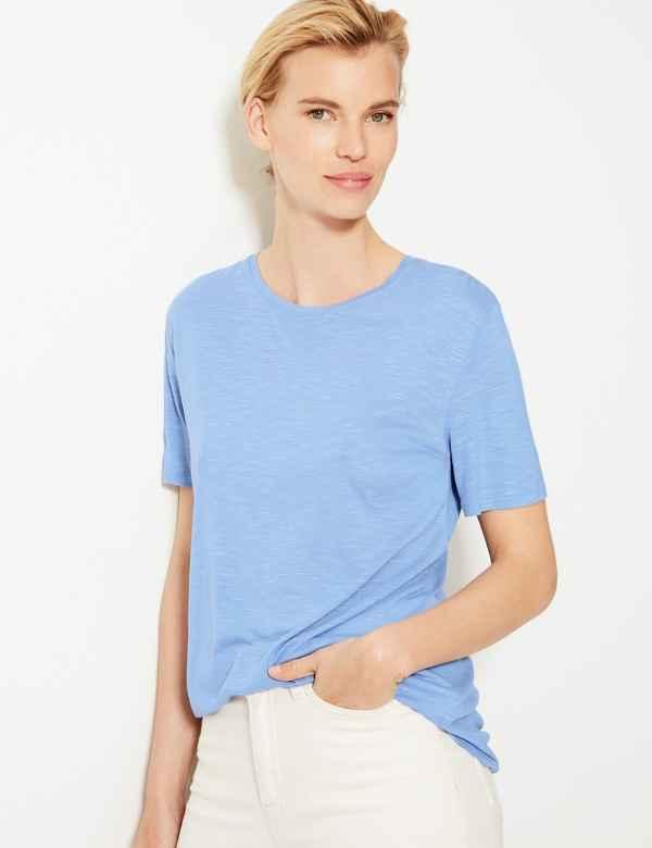 07908e0925 Womens Blue Tops   T-shirts