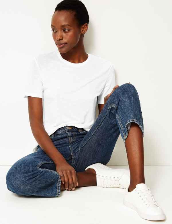337087cc7147c Womens Tops & T shirt   Cool Printed Ladies Tshirts   M&S