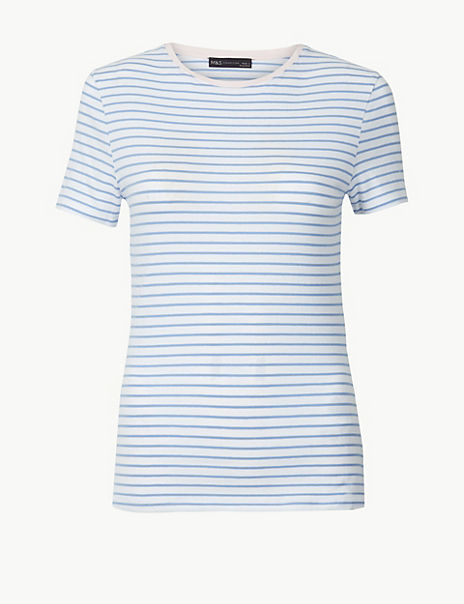 Striped Fitted T-Shirt