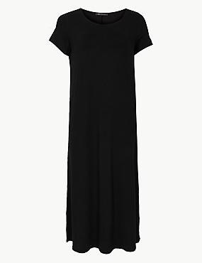 c4ce94aa023 Maxi šaty CURVE sloupového střihu s nbsp krátkými ...