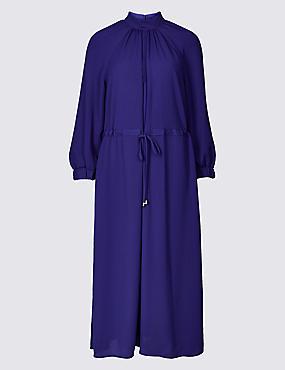 3/4 Sleeve Tea Dress