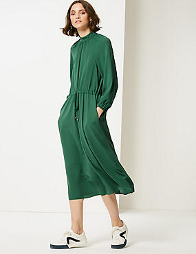 3/4 Sleeve Tea Dress