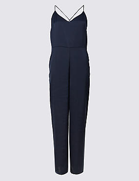 Tipped Jumpsuit