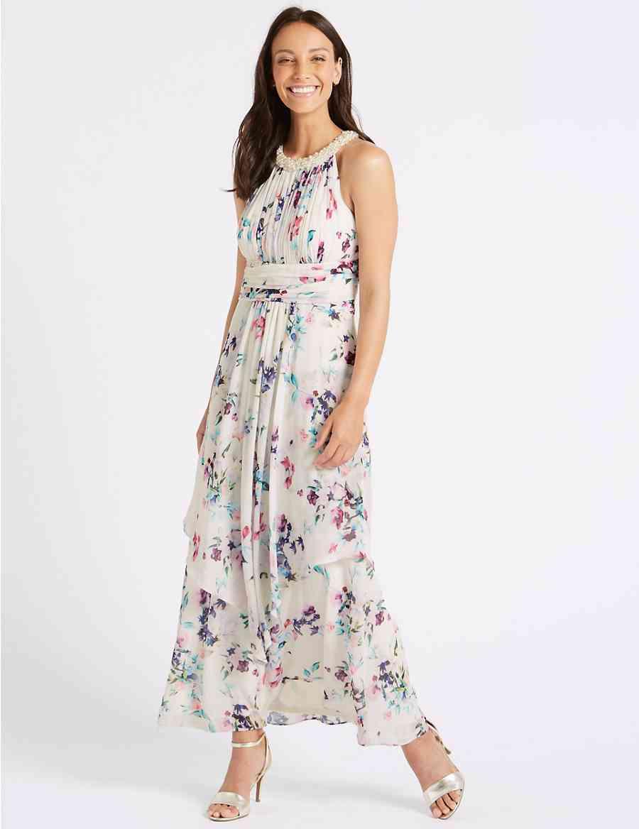 830814c29582 Floral Print Maxi Dress