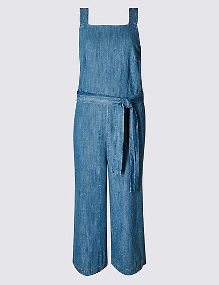 Pure Cotton Strap Jumpsuit