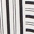 Cotton Blend Striped Shift Midi Dress, IVORY MIX, swatch