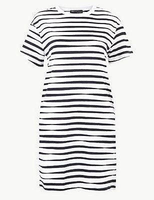 PETITE Pure Cotton T-Shirt Dress