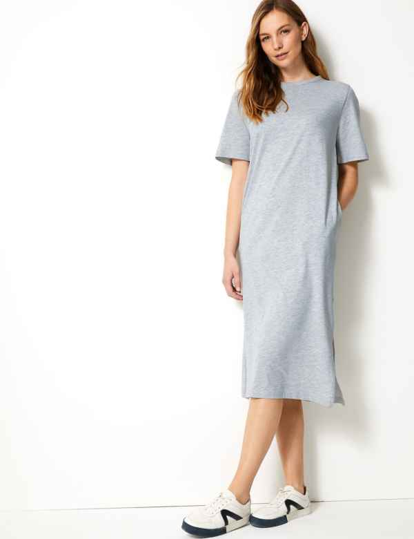3bb8cc6550 T-shirt dress | Women's Dresses | M&S