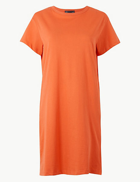 Pure Cotton T-Shirt Dress