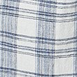 Linen Blend Checked Pleat Front Shift Dress, OATMEAL MIX, swatch