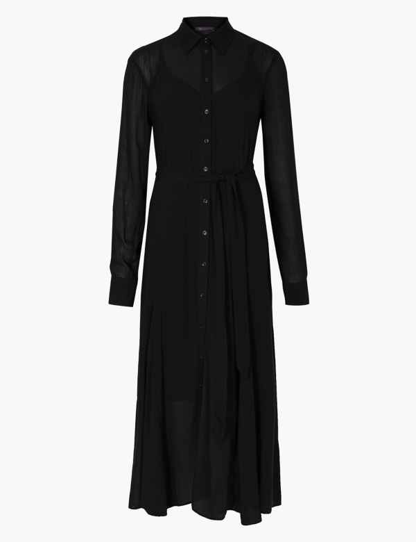 Black Dresses Plain Simple Elegant Womens Dress Ms