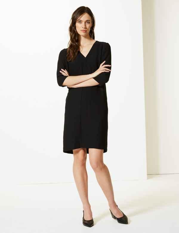 Smart Work Dresses Shift Tunic Dresses For Women Ms