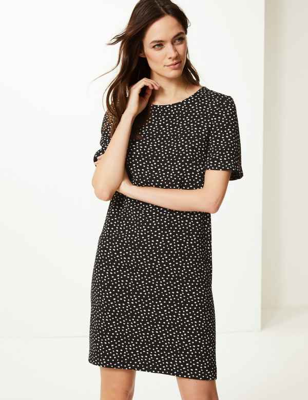 Polka Dot Shift Dress 96845ee4f