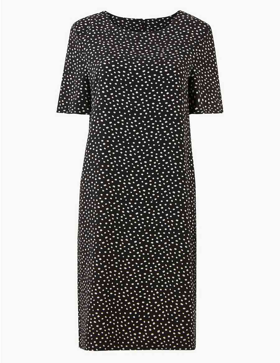 88e57fed5d5 Spotted Shift Dress