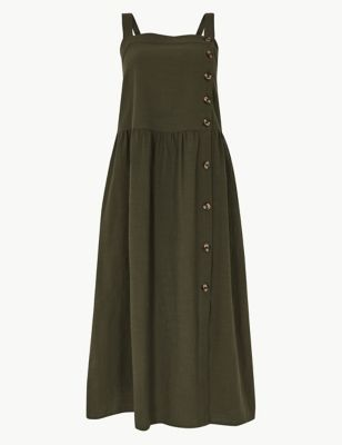 aebd81d39b Pure Cotton Midi Waisted Dress £39.50