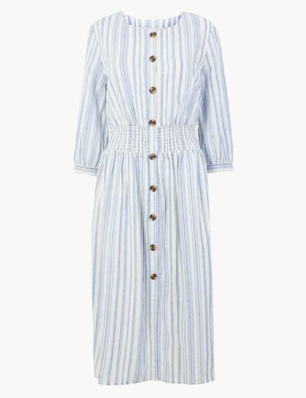e86d2e6ff63 Womens Linen Clothing | Ladies Linen Suits & Tunics | M&S