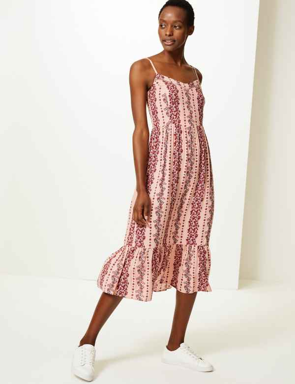 a840fc2618 Pink Dresses | Hot, Pale, Blush & Light Womens Dress| M&S