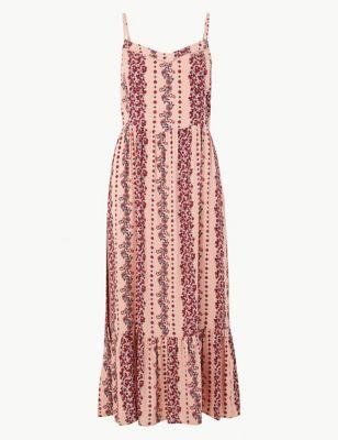 89845d45246f Floral Print Midi Slip Dress £29.50