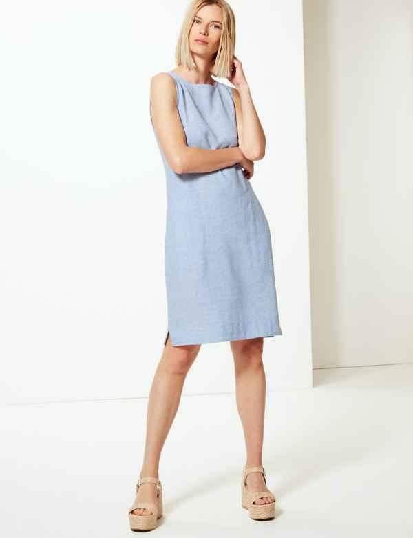 08791a4bb8fc Blue Dresses | Navy, Royal, Light & Cobalt Womens Dress| M&S