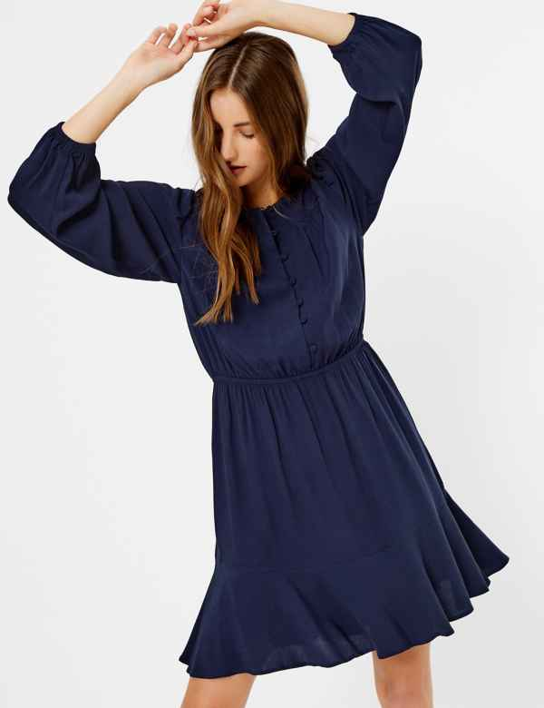10e67b956a713 Blue Dresses   Navy, Royal, Light & Cobalt Womens Dress  M&S