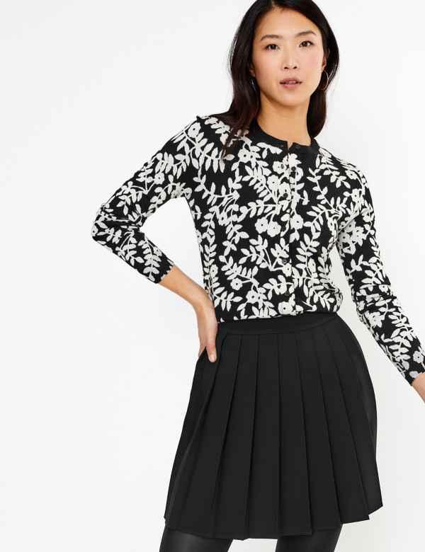 clp60377265: Pleated Mini Skirt
