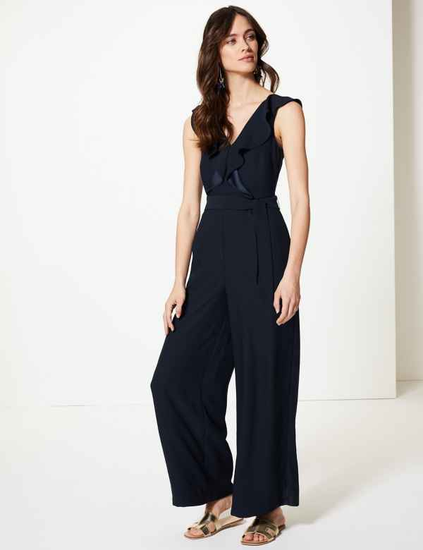 57c353fe5947 V-Neck Jumpsuit