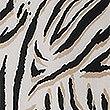 Midi-Trägerkleid mit Tiermuster, ELFENBEIN MELANGE, swatch