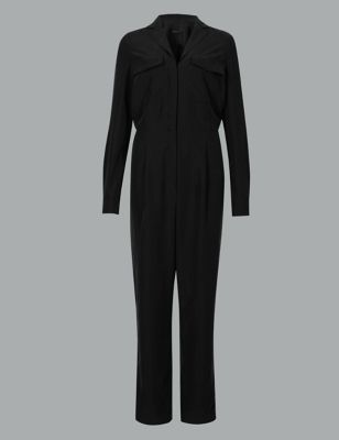 Modal Rich Utility Jumpsuit by Marks & Spencer
