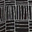 Pure Silk Printed Swing Midi Dress, BLACK MIX, swatch