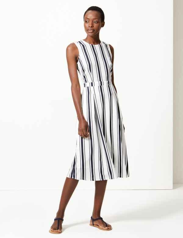 fdcfe751de Blue Dresses | Navy, Royal, Light & Cobalt Womens Dress| M&S