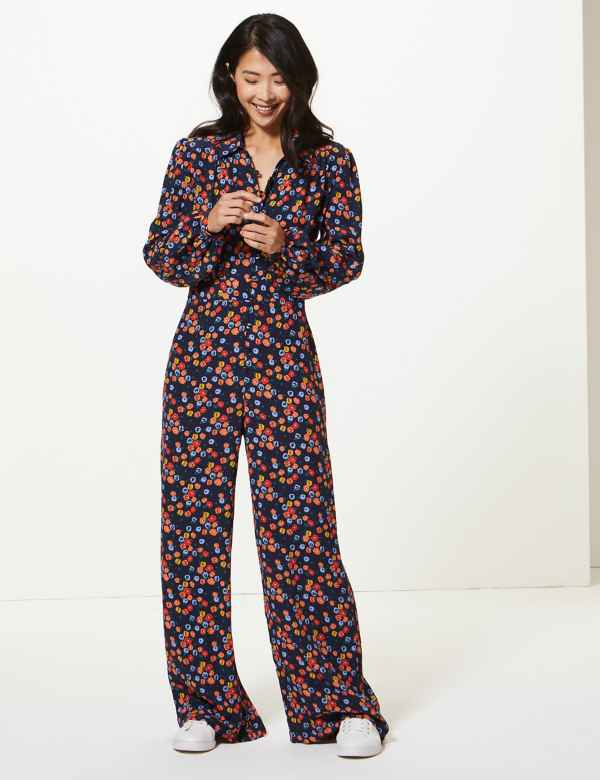 5bb404e79cdddb Jumpsuits for Women | Ladies Floral & Denim Playsuits | M&S